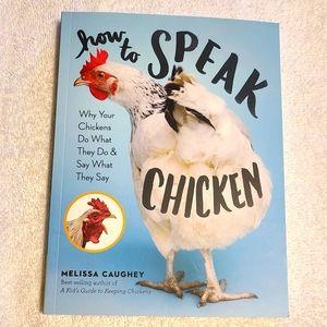 How to Speak Chicken Book NEW
